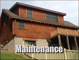Log Home Maintenance  Chesterfield County,  South Carolina