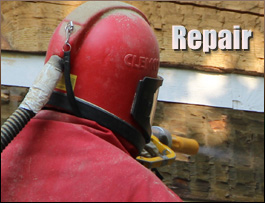 Log Home Repair  Chesterfield County,  South Carolina
